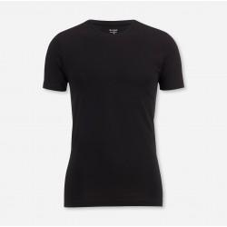 T-Shirt de dessous OLYMP Level Five / body fit, Noir cosmolepuy