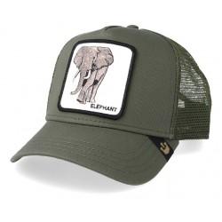 Casquette Elephant Olive Trucker - Goorin Bros