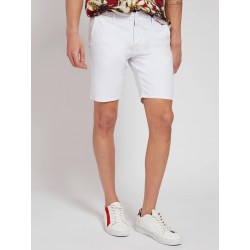 short skinny  guess en coton  M1GD05WDP31blanc cosmolepuy