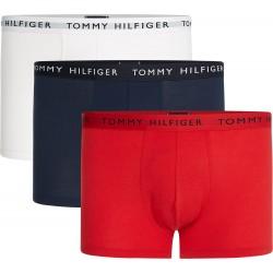 3 boxers en coton bio extensible Tommy Hilfiger